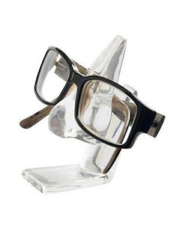 Sujetagafas nariz transparente
