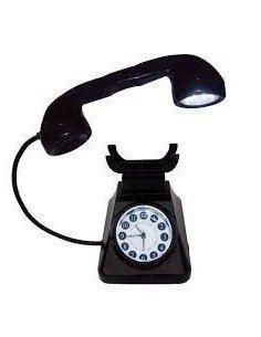 Reloj Lámpara Teléfono