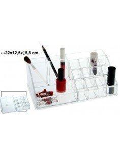 Organizador cosméticos 22 x 12 cm.