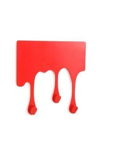 Colgador Gotas Rojo