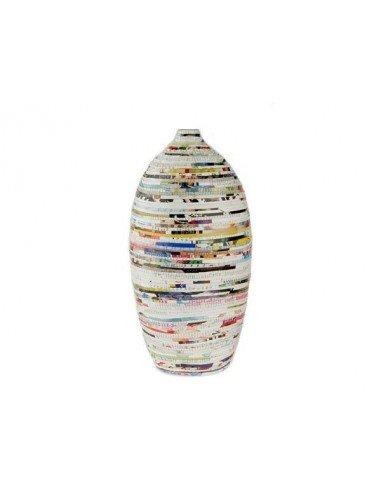 Jarrón papel reciclado 2