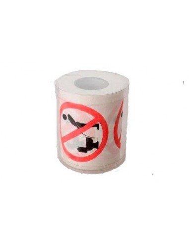 Rollo wc Prohibido