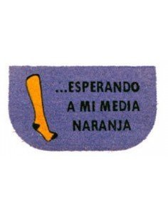 Felpudo Media Naranja