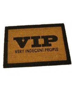 Felpudo Very Indecent People