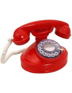 Teléfono Retro Rojo