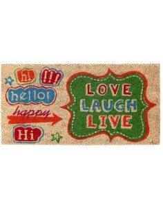 Felpudo Love Laugh