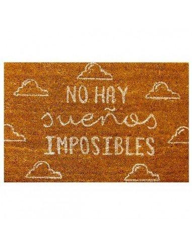 Felpudo No Hay Sueños Imposibles