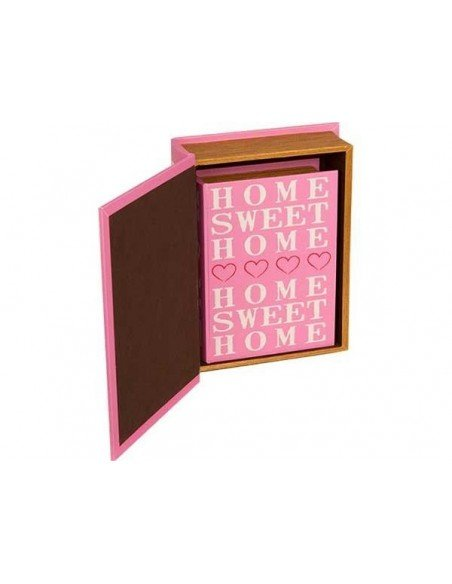 Cajas Libro Sweet Home