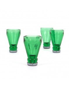 Pack 4 Vasos Chupitos Bottle Top