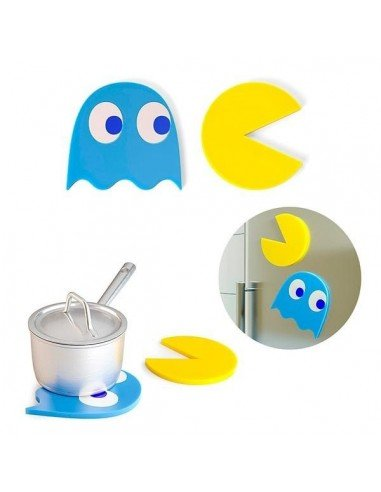 Salvamanteles Pac-Man