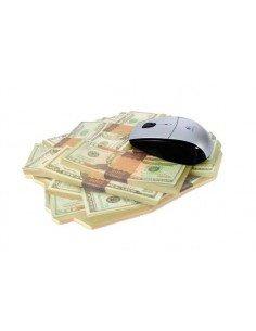 Alfombrilla ratón dólar