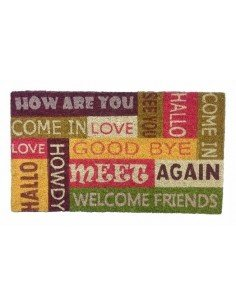 Felpudo Welcome Friends