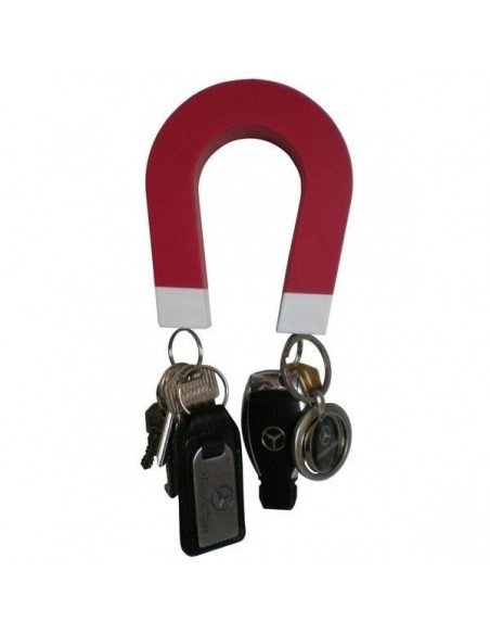 Cuelga llaves herradura imantado