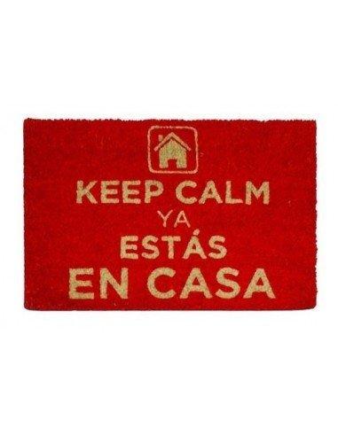 Felpudo Keep Calm Ya Estás En Casa