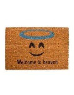 Felpudo Welcome To Heaven