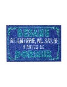 Felpudo Bésame