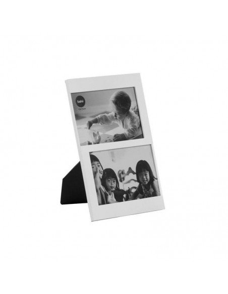 Portafotos Doble Blanco