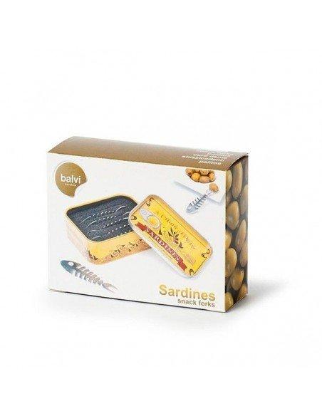 Tenedores Apertivios Sardinas