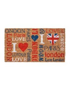 Felpudo London Paris