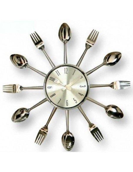 Reloj Cocina Cubiertos
