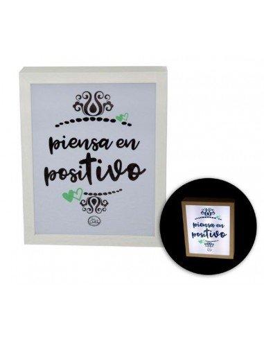 Caja Luz Piensa En Positivo