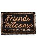 Felpudo Friends Welcome Relatives