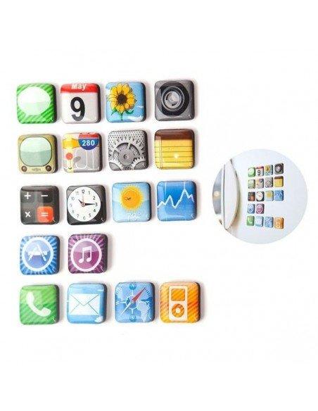 Set 18 imanes Iphone