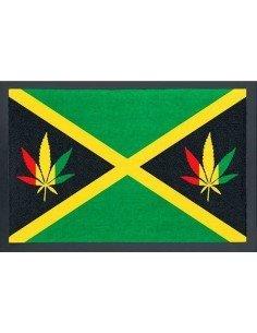 Felpudo Marihuana Jamaica