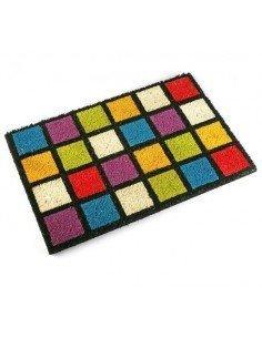 Felpudos Cuadrados Multicolor