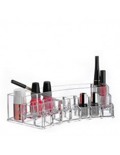 Organizador de cosméticos ovalado