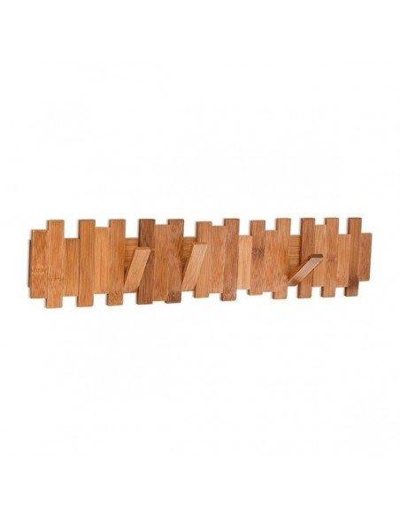 Colgador Perchero Bambú Oscuro