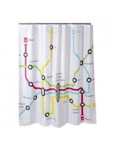 Cortina baño Metro