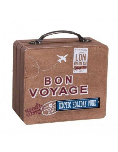 Hucha Maleta Bon Voyage