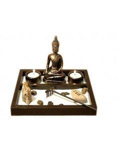 Jardín Zen Buda Velas