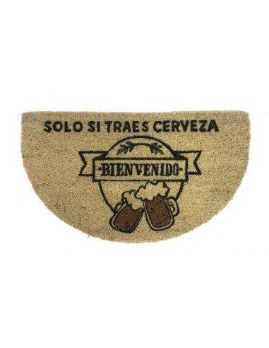 Felpudo Si Traes Cerveza Bienvenido