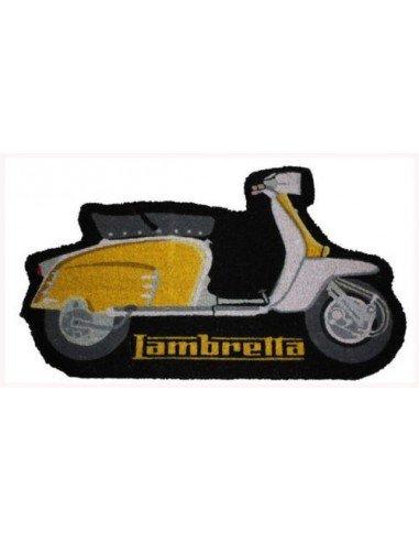 Felpudo Moto Lambretta Amarillo
