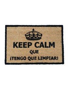 Felpudo Keep Calm Limpiar