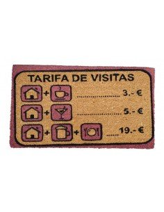 Felpudo Tarifa Visitas