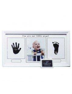 Portafotos Huellas Bebé