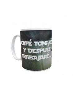 Taza Yoda Café Tomaré