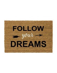 Felpudo Follow Your Dreams