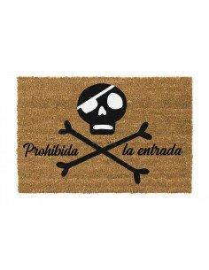 Felpudo Calavera Pirata