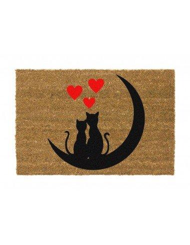 Felpudo Gatos Luna