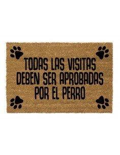 Felpudo Visitas Perro