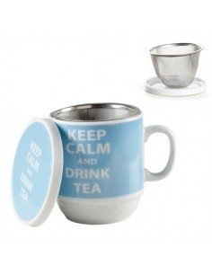 Taza Tisanera Keep Calm
