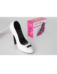 Teléfono Zapato Blanco