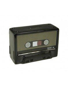 Hucha Cassette Negro