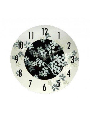 Reloj Cristal Flores