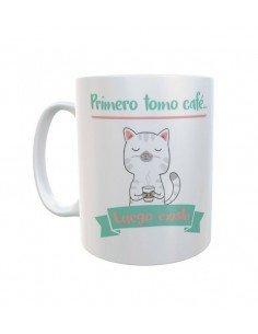 Taza Gato Café