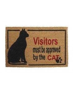 Felpudo Gato Visitas